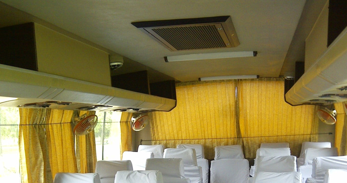 Inner View of TATA LP 42 Semi Large 27+2 Seater