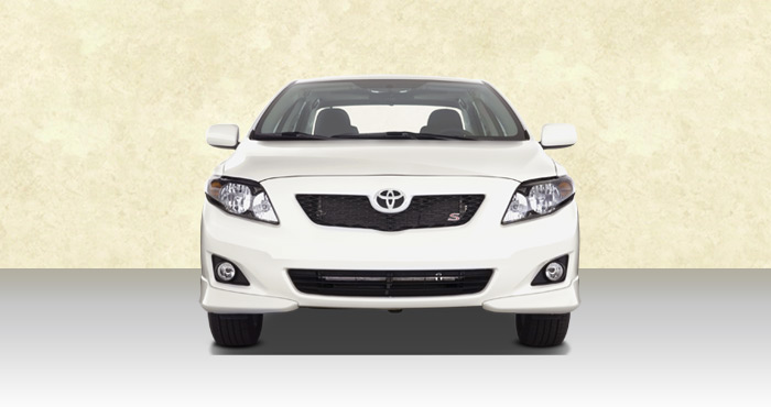 Hire Toyota Corolla 4+1 Seater car from India Car Rental