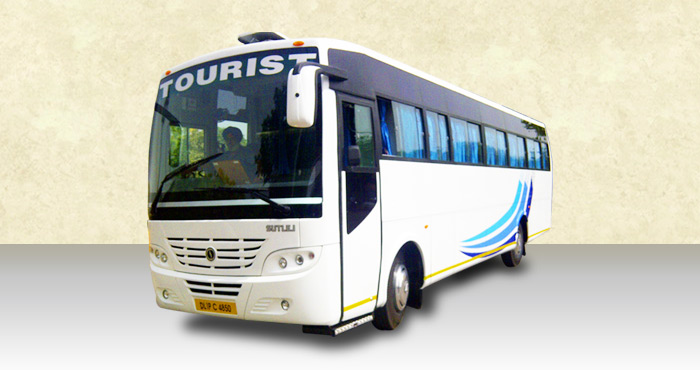 Hire Ashok Leyland 39+2 Seater from India Rental Cars
