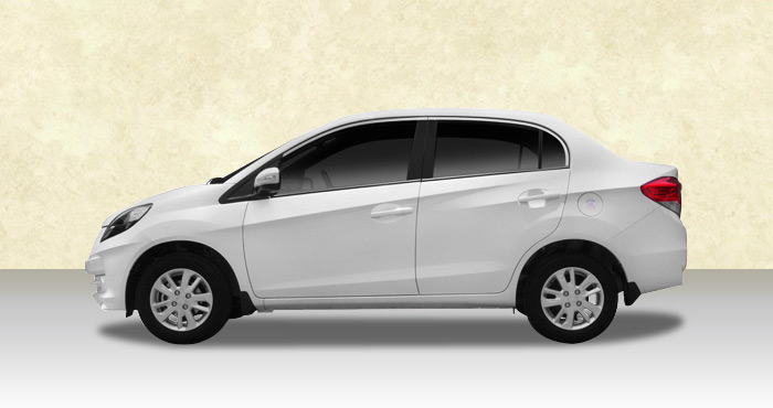 Hire Honda Amaze 4+1 Seater from India Rental Cars