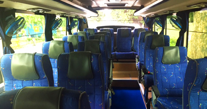 Inner View of TATA LP 42 (Mini) 18 Seater Coach